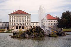Teilansicht vom Schloss Nymphenburg München