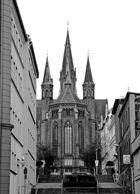 Teilansicht von derPaulskirche in Schwerin....
