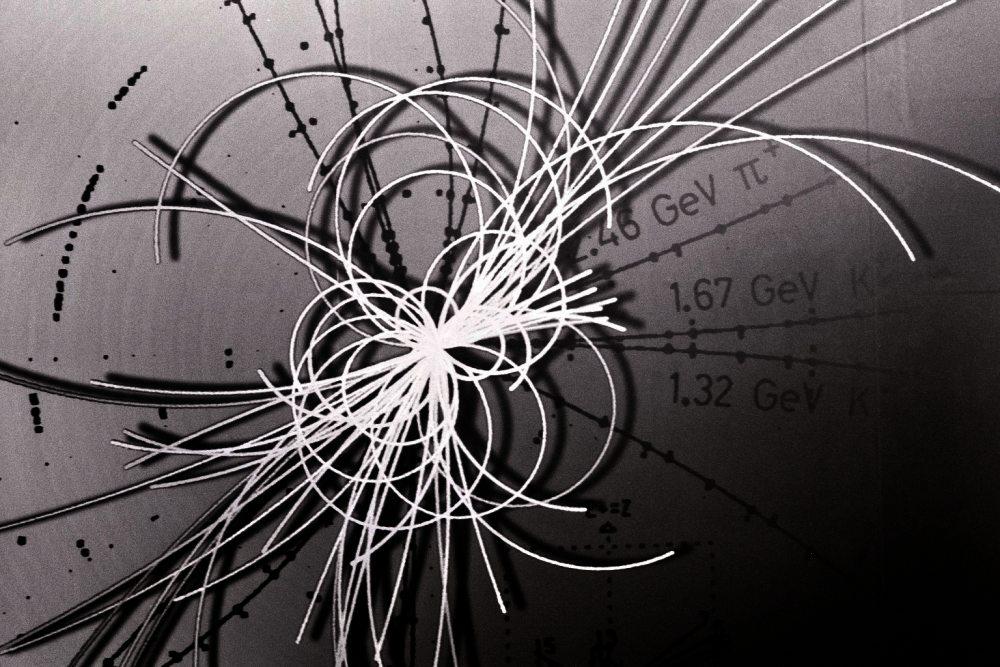 Teilchenspuren