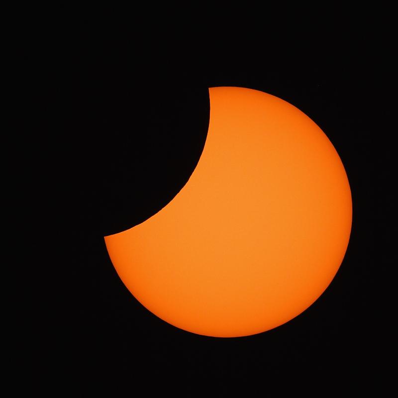 Teilweise Sonnenfinsternis - 2008 -