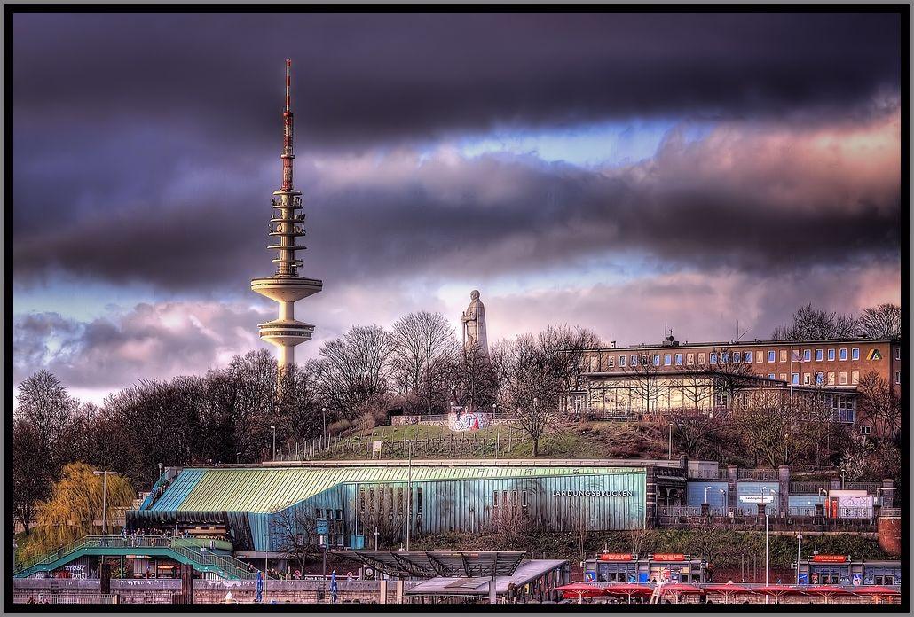 Tele Michel und Bismarck Denkmal