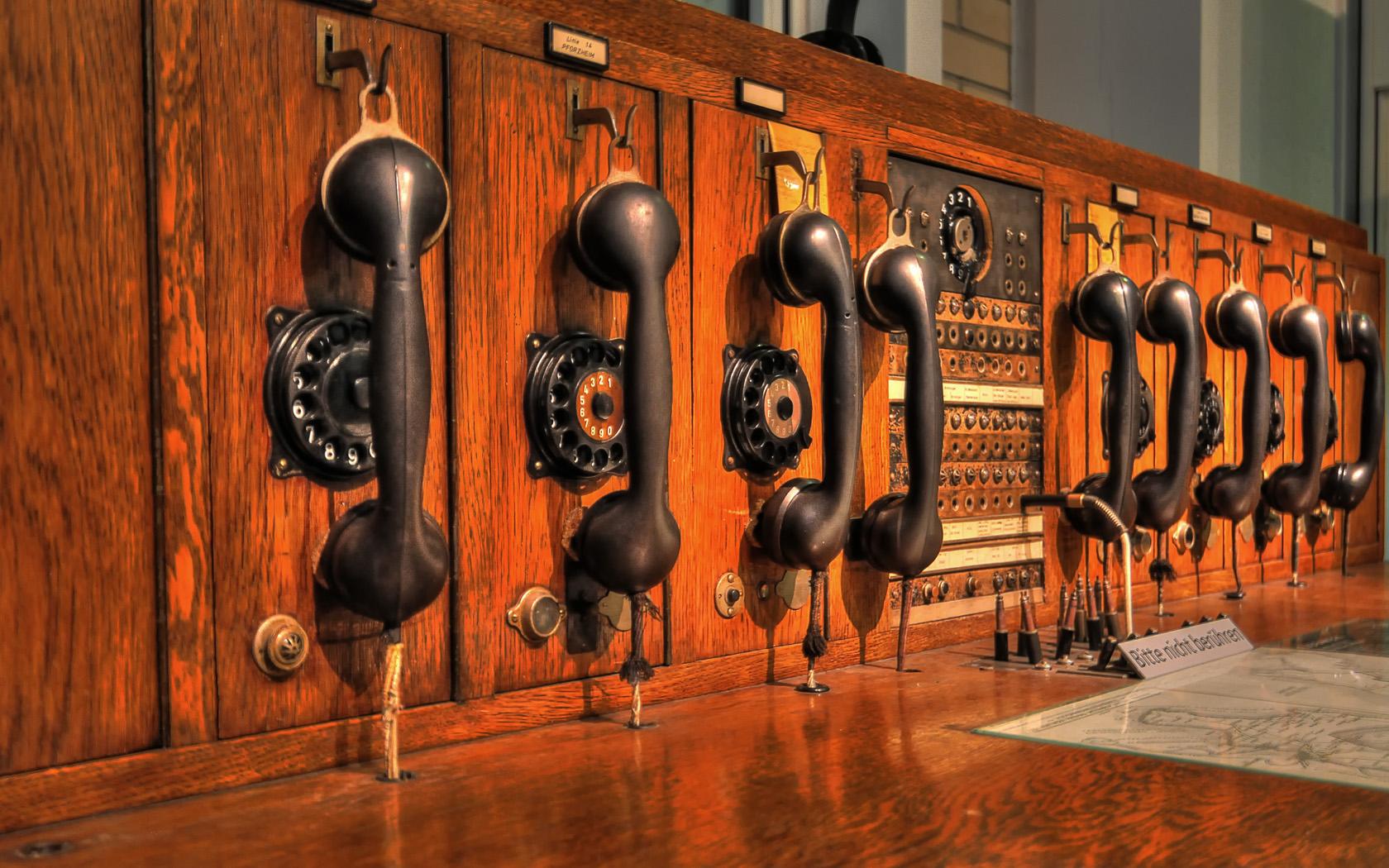 telecommunications / one step before i-phone