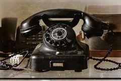 Telefon, wie dazumal.