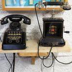 Telefone wie Dazumal...