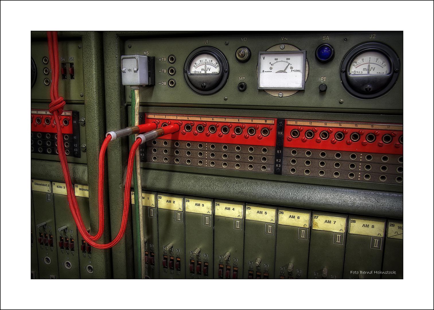 Telefonnetz der Bundeswehr zur Zeit des kalten Krieges ....