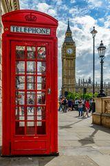 Telefonzelle am Big Ben