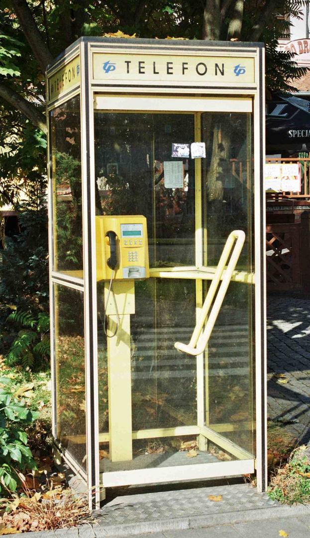 Telefonzelle Gizycko