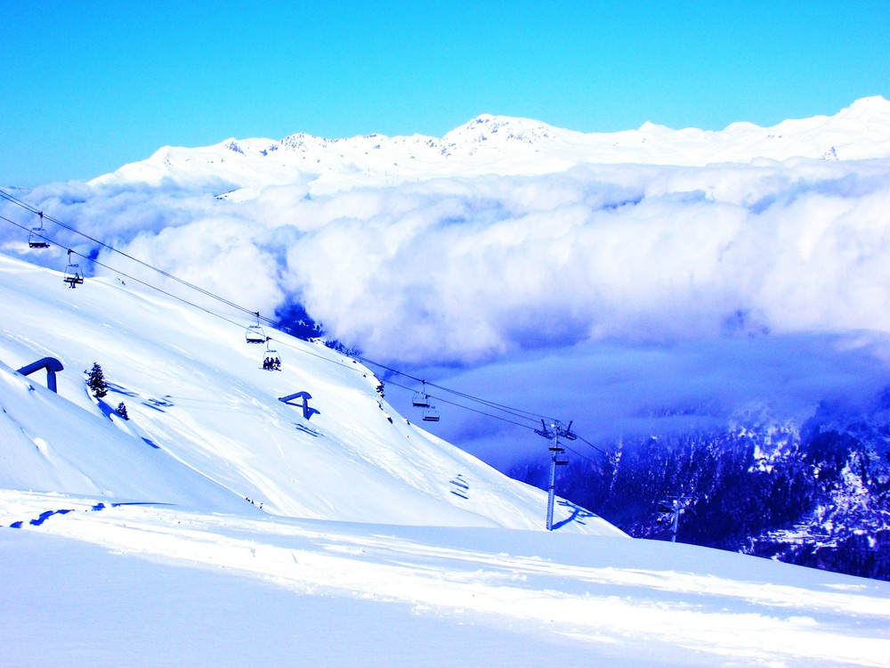 télésièges de montagne