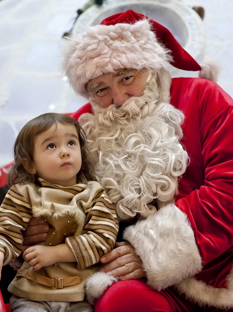 Tell me a story, Santa Claus!