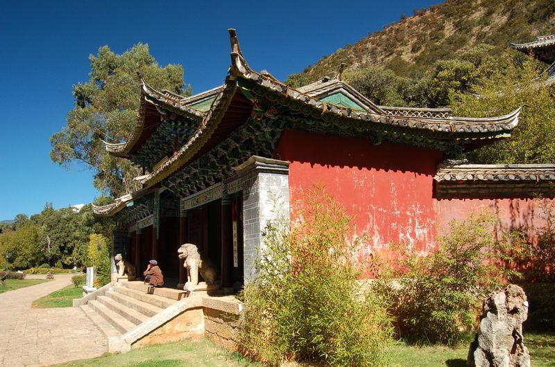 Tempel im Black Dragon Pool
