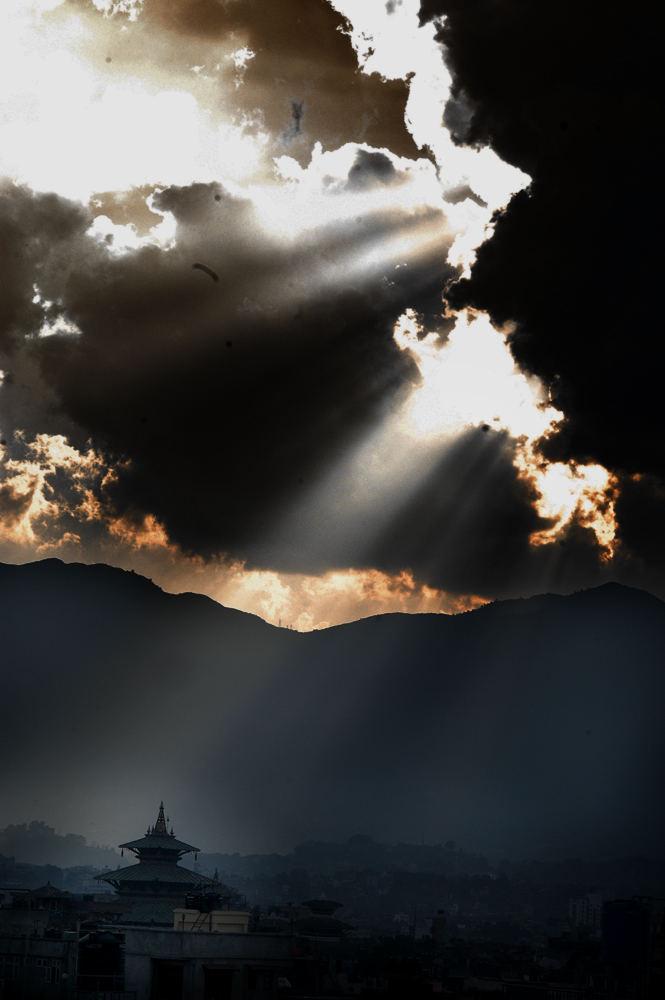 Tempel im Licht