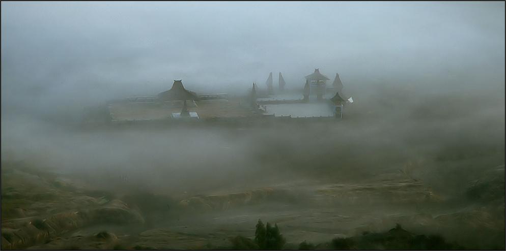 * Tempel im Nebel *