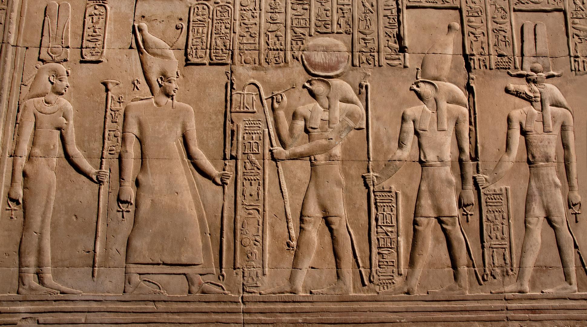 tempel in kom ombo (oberägypten)