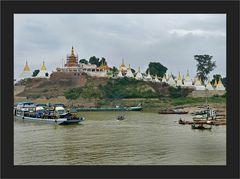 Tempel in Mandalay