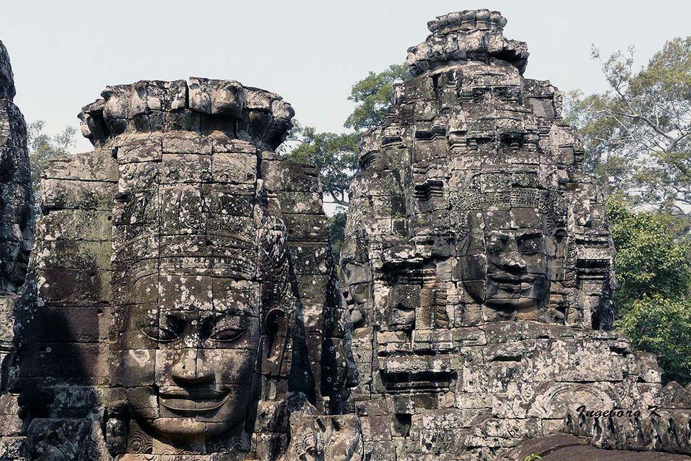 Tempel Kopfschmuck - Angkor-Wat