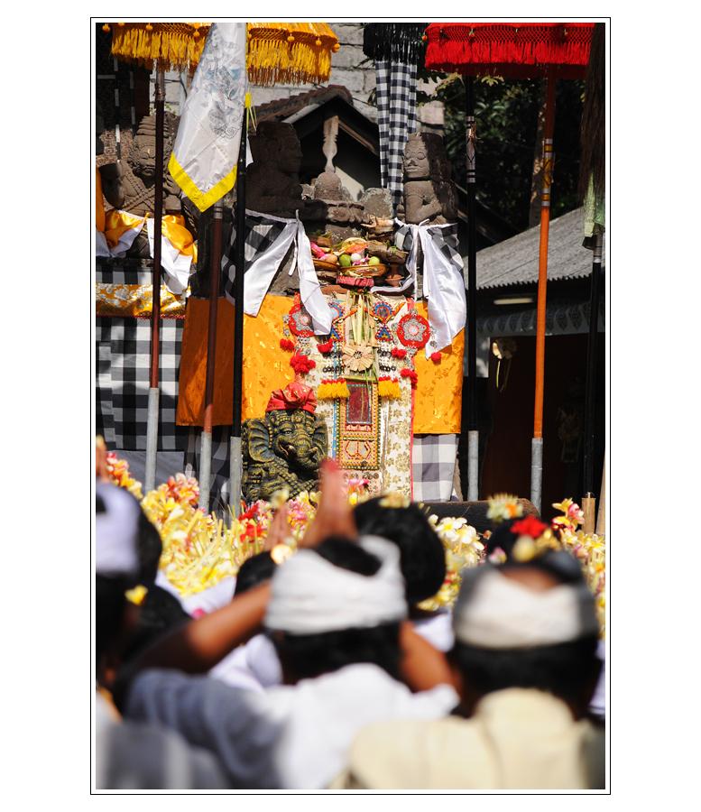 Tempel Zeremonie
