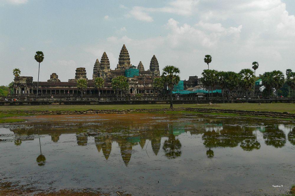 Tempelanlage in Angkor - eine der unendlich vielen