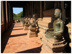 Tempelanlage in Vientiane