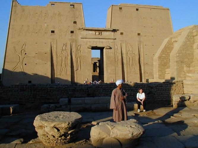Tempelanlage von Edfu.