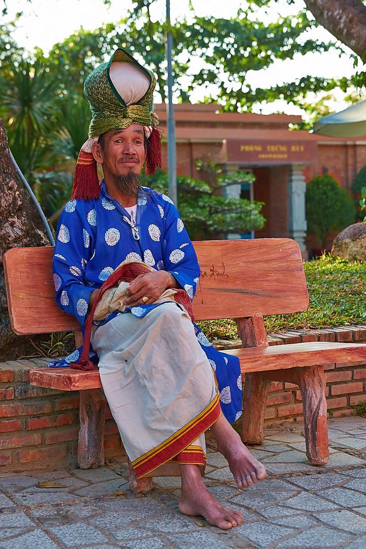 Tempelbesucher, Nha Trang