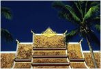 Tempeldach in Luang Prabang