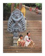 Tempeltreppe