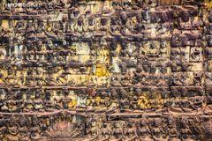 Tempelwand