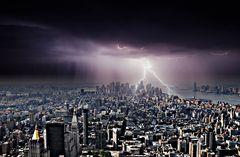 tempesta in città