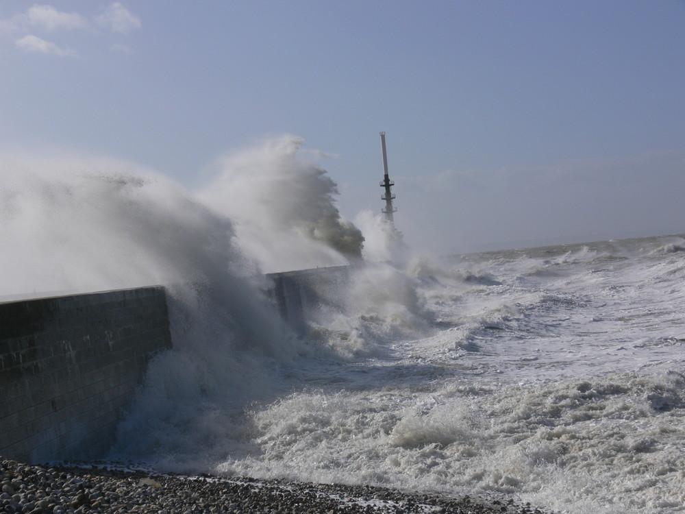 Tempète sur le Havre