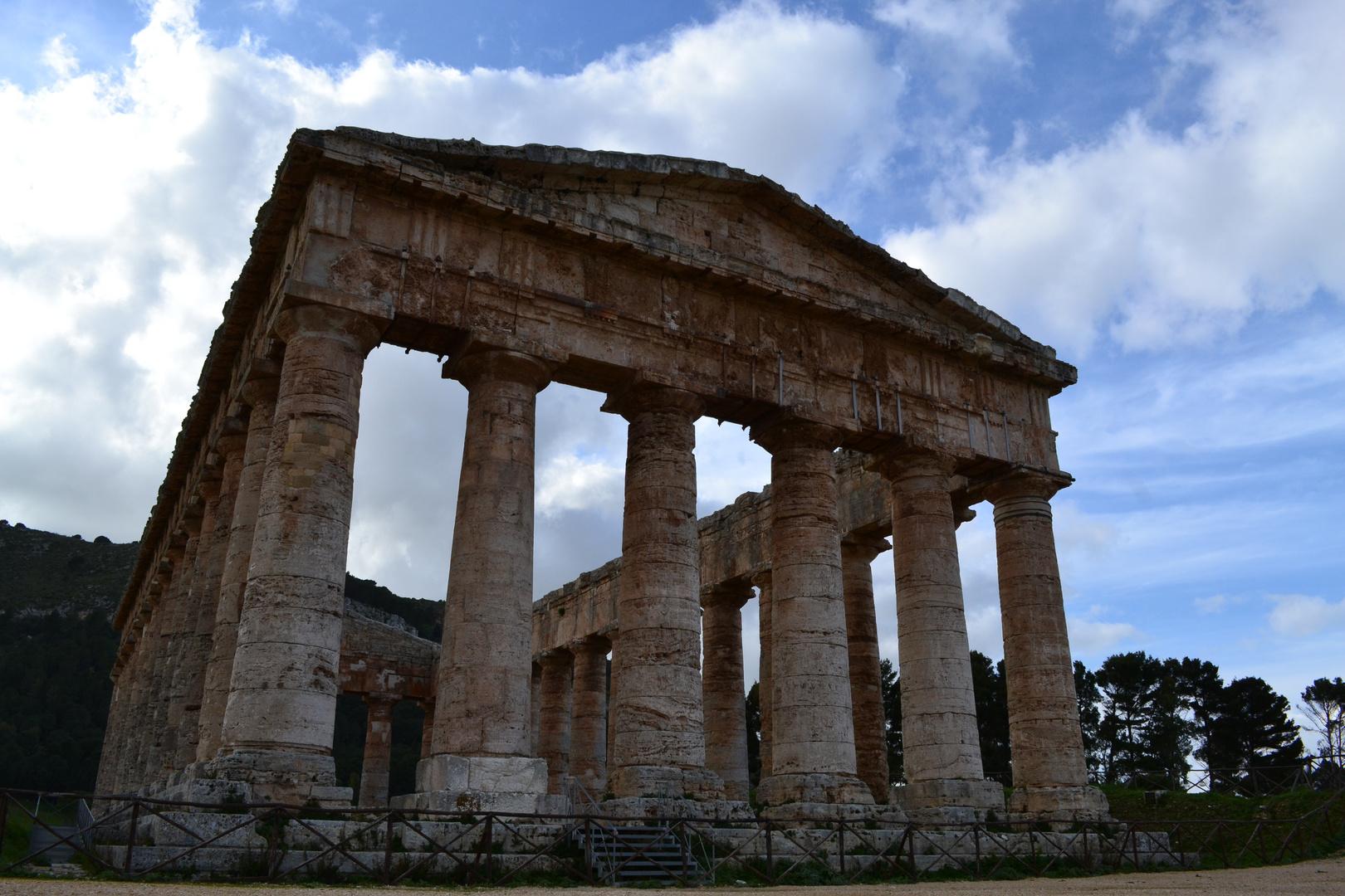 Temple dorique de Ségeste