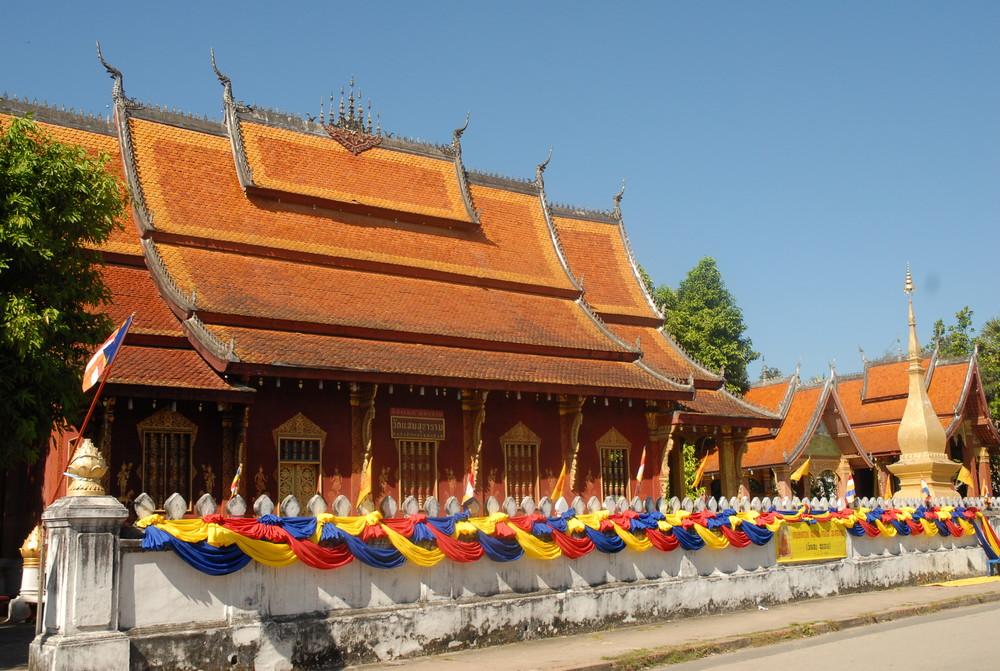temple en fête