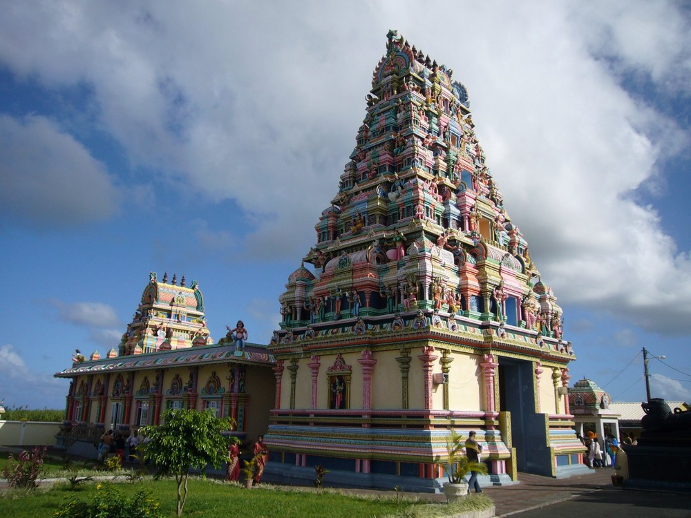 Temple Tamoule Ile maurice