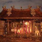 Temple@night