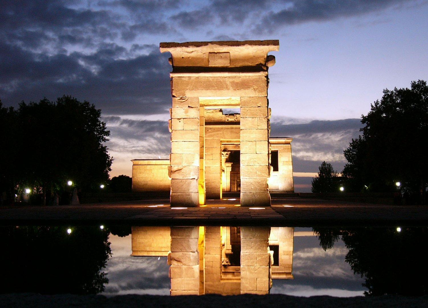 Templo de Debod, Madrid, Noviembre 2005