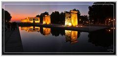 Templo de Debod, Madrid. Panoramica (5 Img). Post GKM3