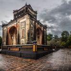 Templo de Hue (Vietnam). Panorámica