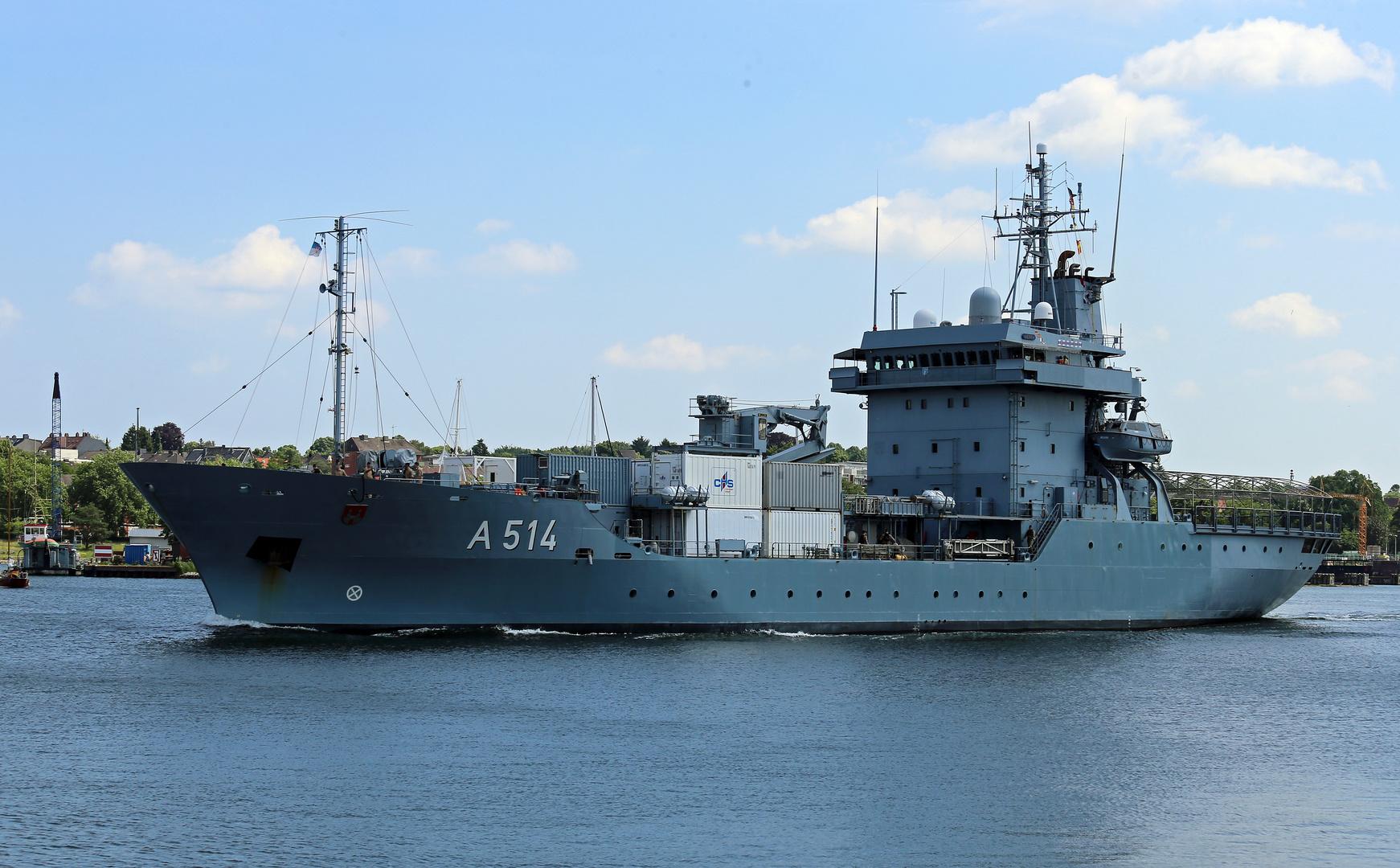 "Tender ""Werra (A 514) Foto & Bild | maritim, marine"