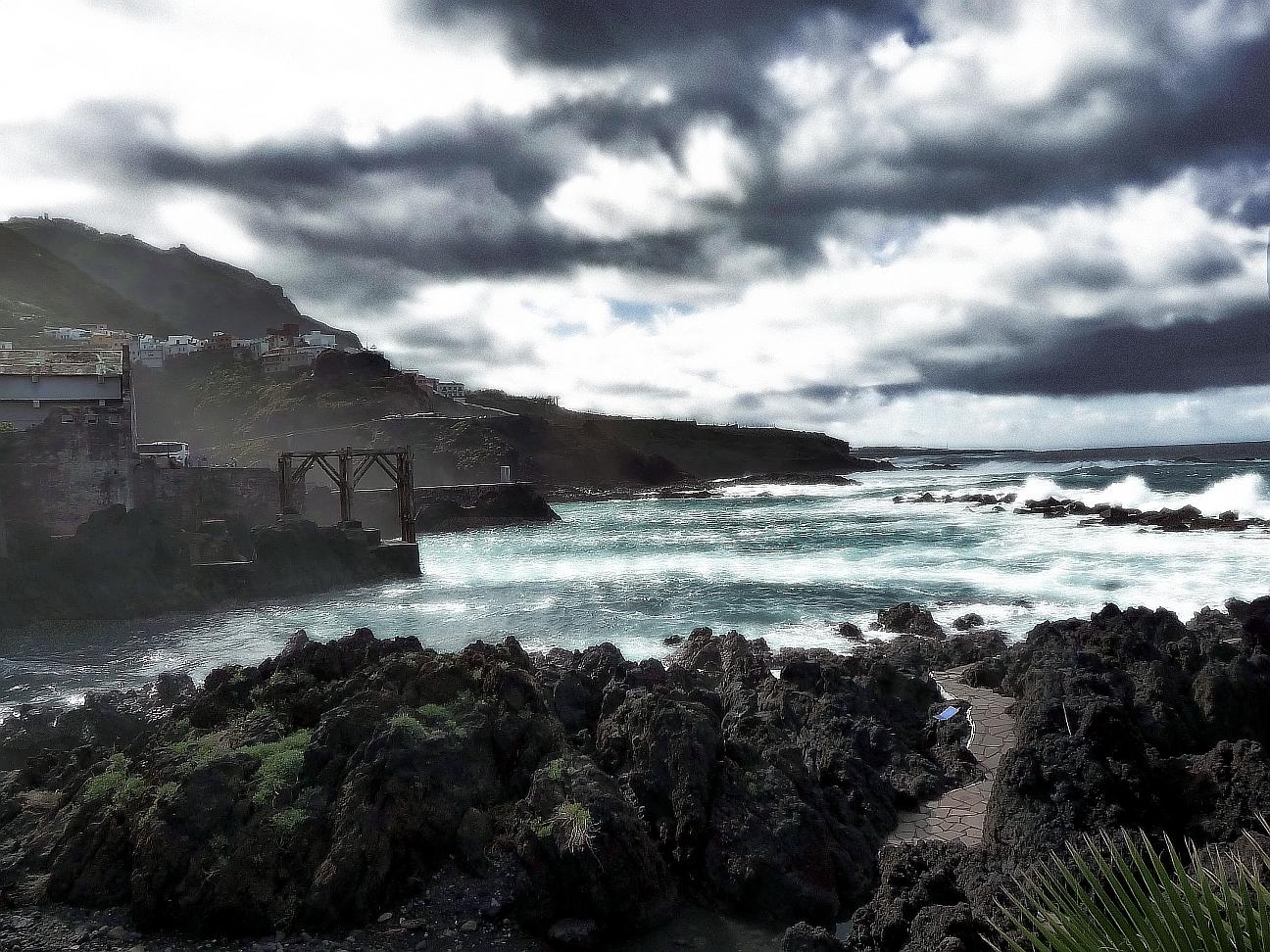 Tenerife, das Meer in Garachico