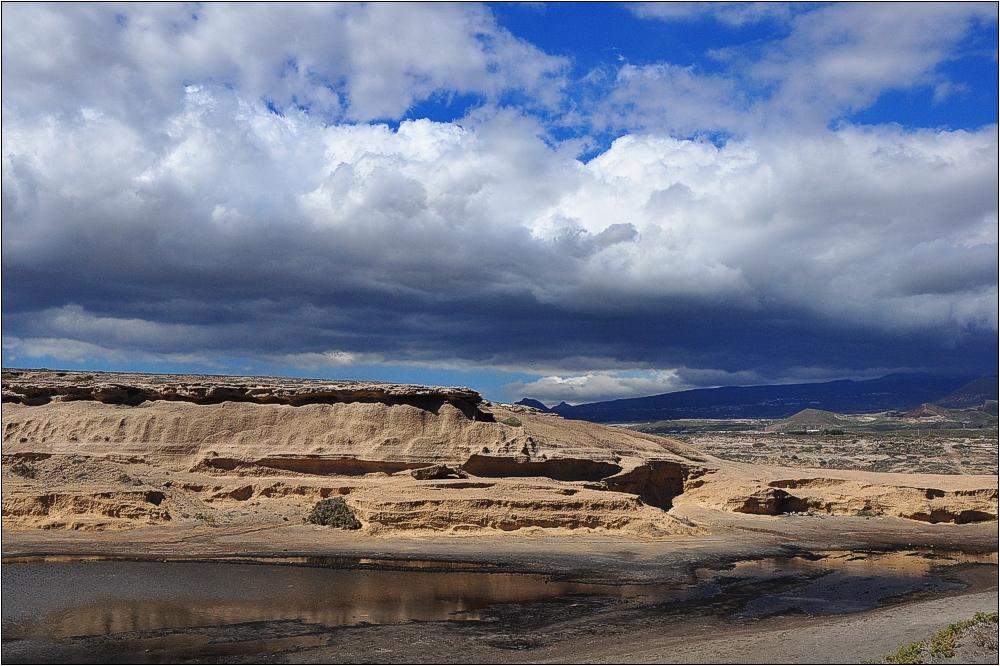 Teneriffa, Badlands von El Médano