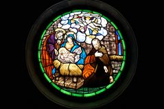 Teneriffa - Kirchenfenster in Vilaflor