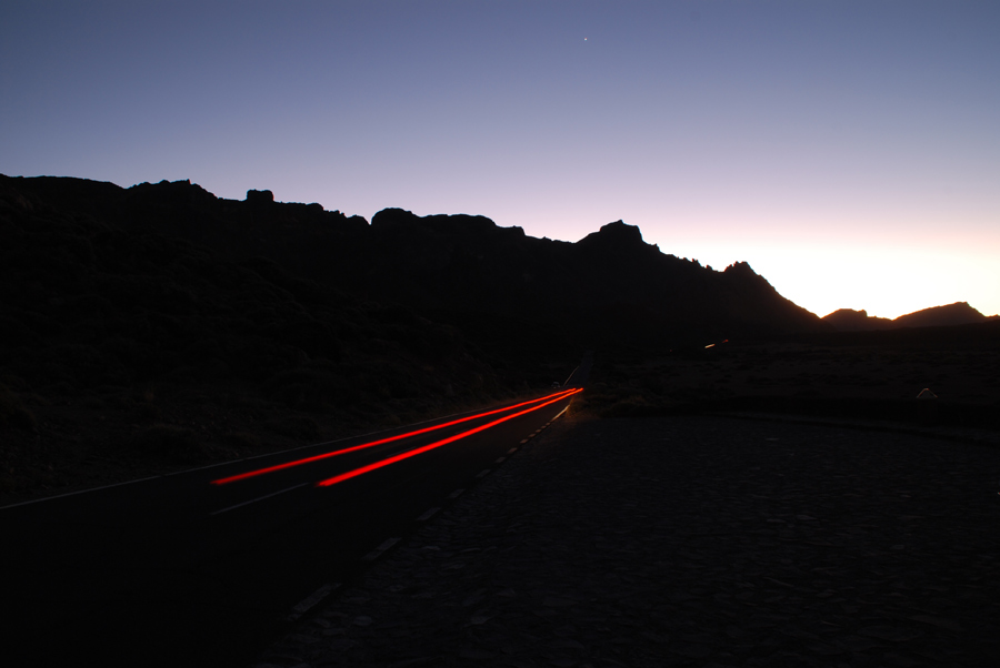 Teneriffa - Teide bei Nacht [more pics: www.a-k.de]