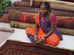 Teppichknüpferei in Jaipur