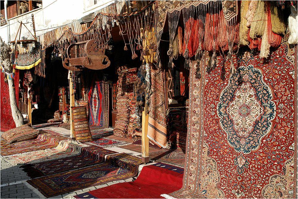 Teppichmarkt in Göreme/Kappadokien