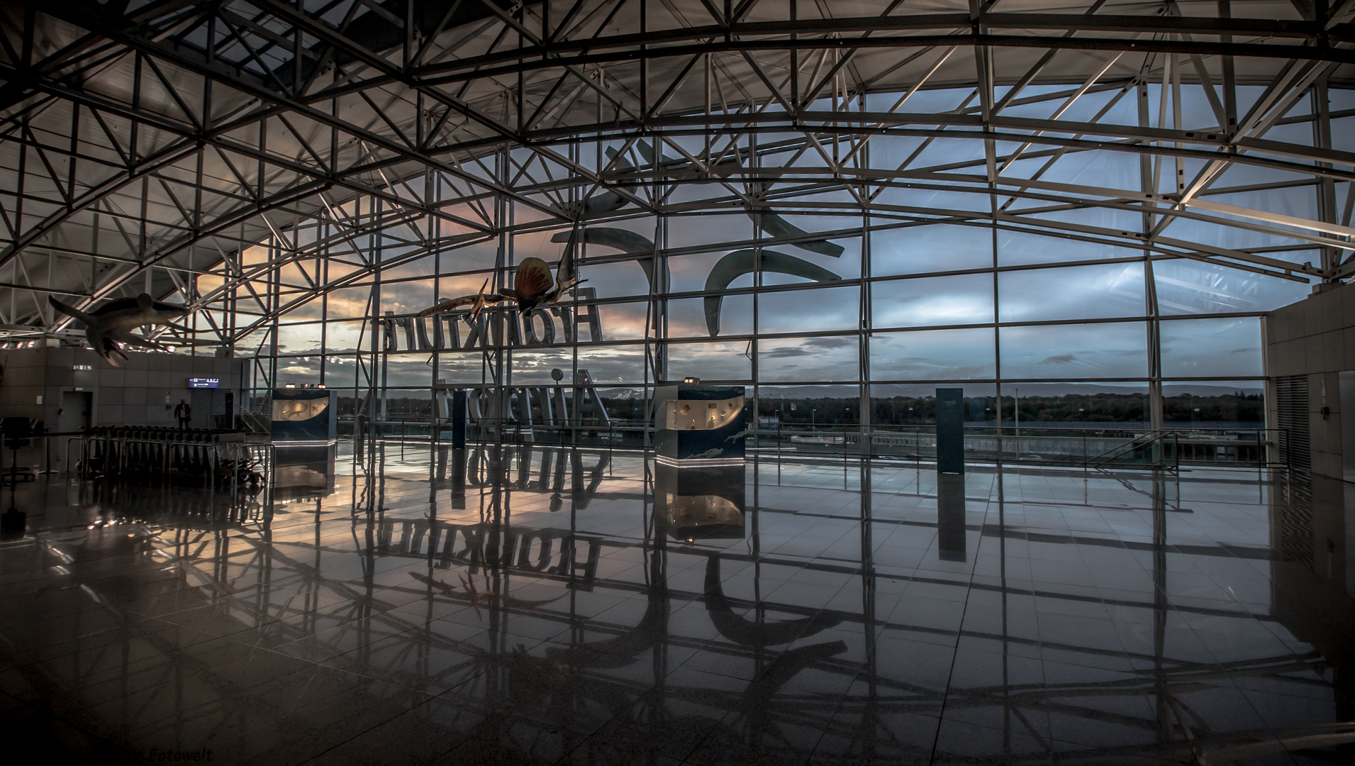 Frankfurt Terminal 2 Abflug