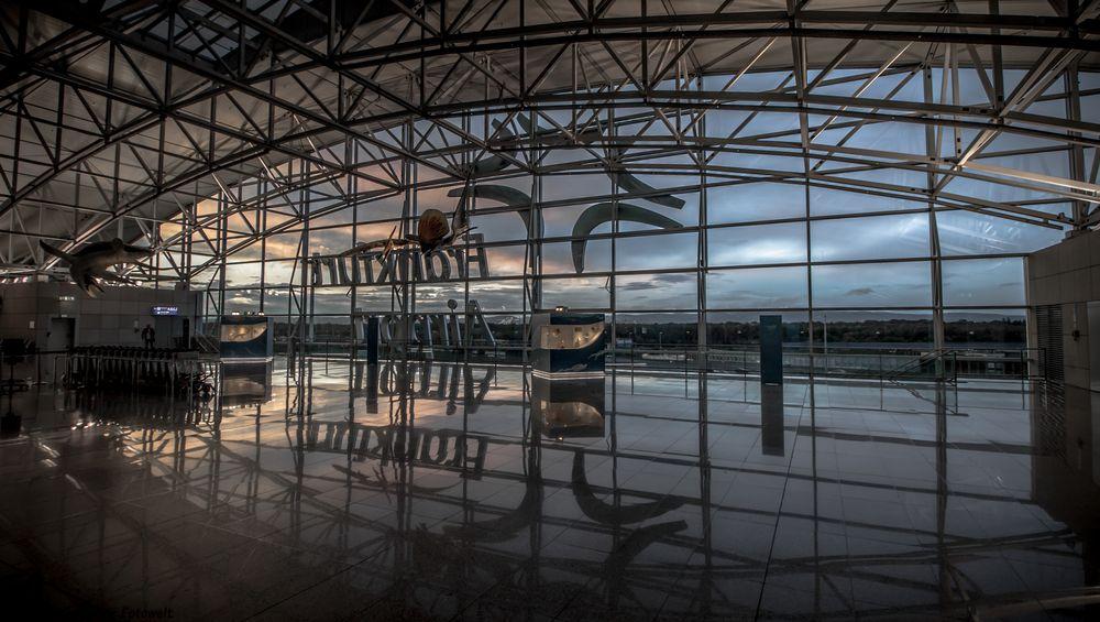 Abflug Terminal 2 Frankfurt