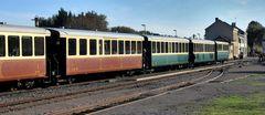 Terminus à Noyelles  pour le petit Train de la Baie de Somme....
