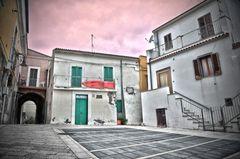 Termoli - veduta del borgo antico 2 in HDR