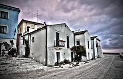 Termoli - veduta del borgo antico in HDR