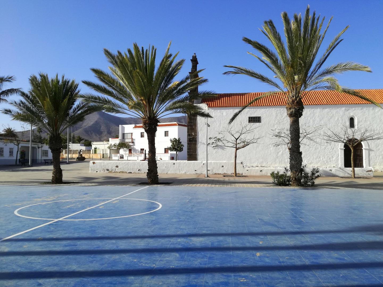 Terrain de jeu à Santa Ana (Fuerteventura)