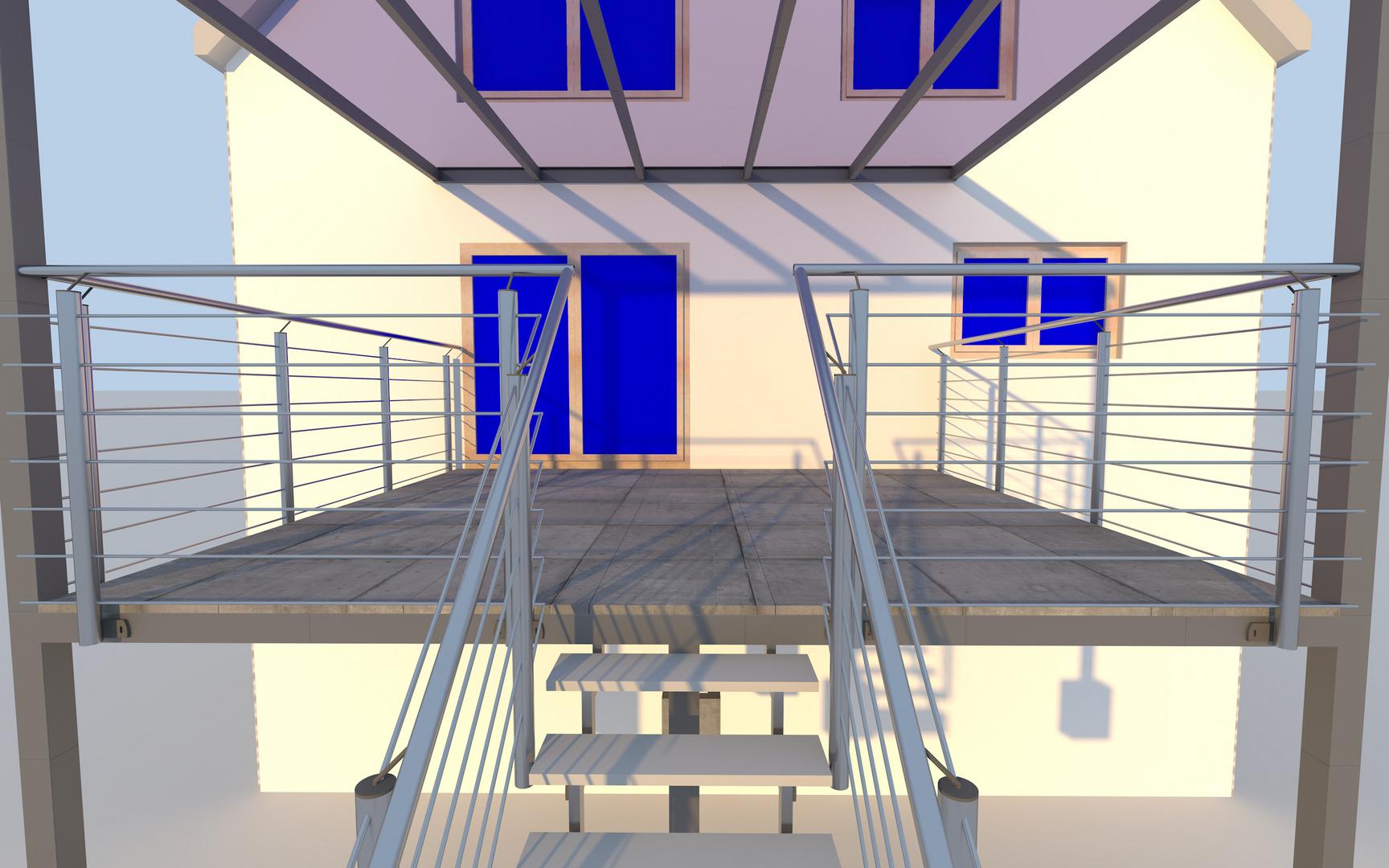 Favorit Terrasse by Aixineering Foto & Bild | digiart, stahlkonstruktion CU99